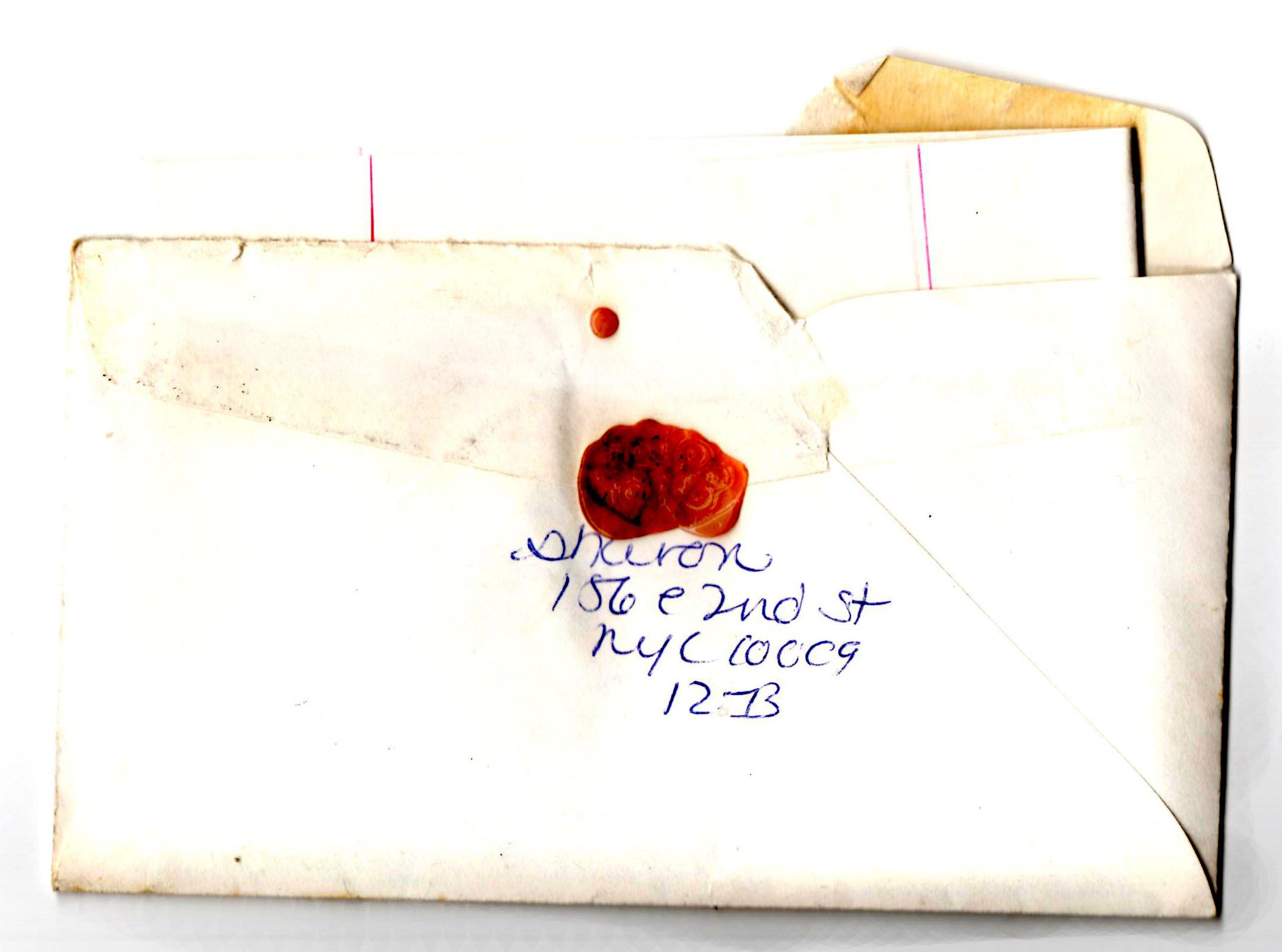 E. 2nd sealing wax